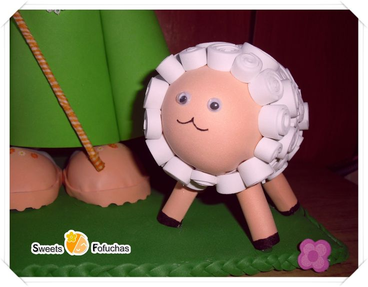 Pin By Sweets Fofuchas On Fofucha Pastorcita Pinterest