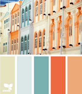 I could really go for these colors!