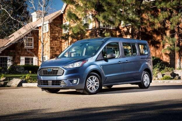 2019 Ford Transit Connect Wagon Front Three Quarter Jpg Motor