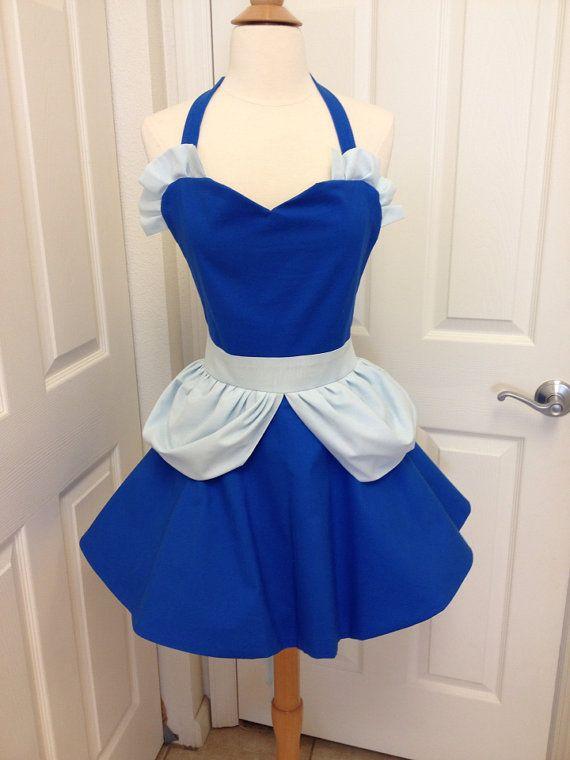 Cinderella adult apron by AJsCafe on Etsy, $45.00