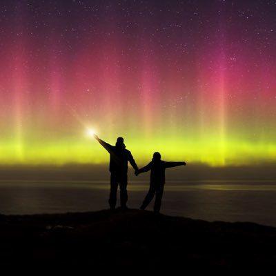 Aurora Alert Ireland - twitter account that posts when the aurora may be visible over ireland