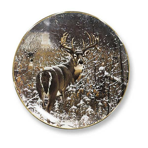 Wild Wings Dream Buck Decorative Plate