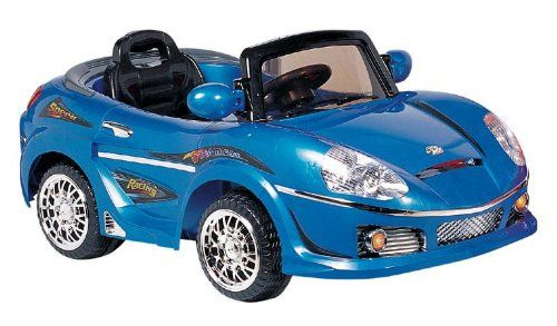 Best Car Toys For Toddlers : Best ride on cars r v kids convertible blue battery