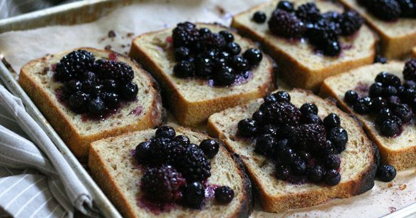 Baked Berry French Toast #purewow #breakfast #recipe #easy #bread