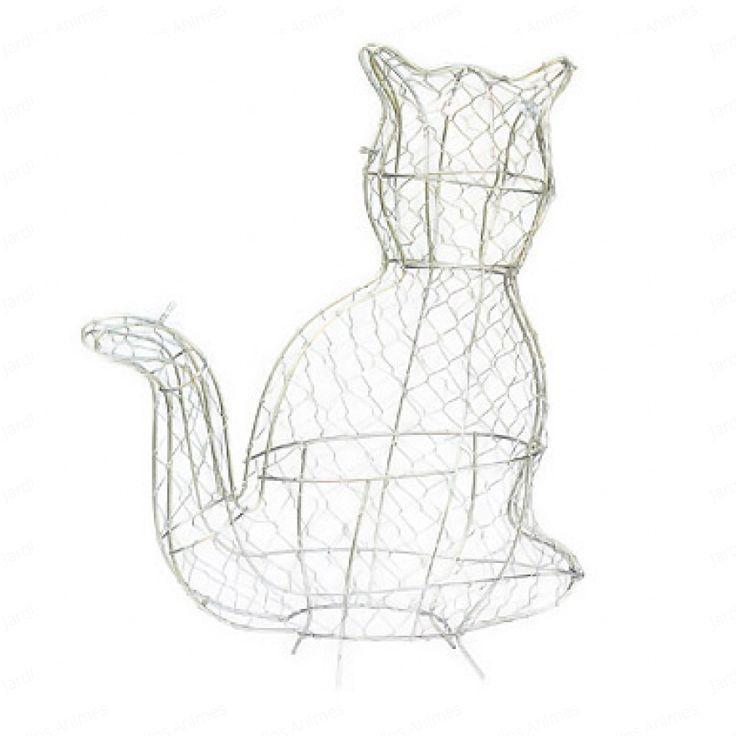 Cat topiary frame