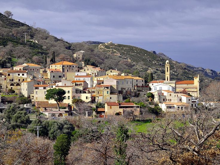 Corsica - A Balagna - La Balagne - Lavatoggio (en corse U Lavatoghju), est une commune située dans le département de la Haute-Corse.