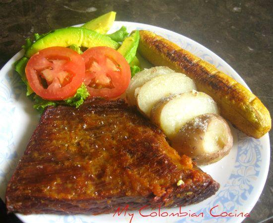 My Colombian Cocina - Sobrebarriga al Horno