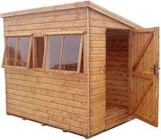 malvern heavy duty pent sheds 80 wide x 60 deep
