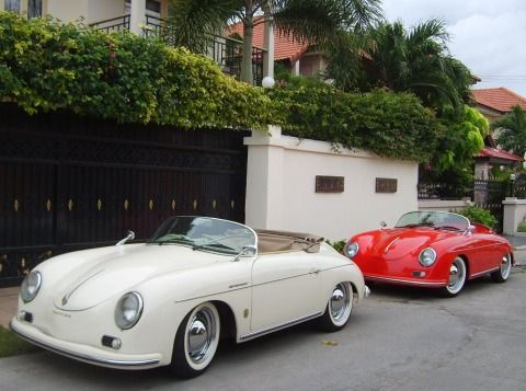 Porsche 356 Speedster Replica For Sale In Pattaya