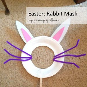 Happy Mum Happy Child's Easter Rabbit Mask Activity