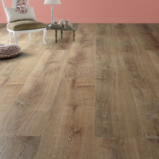 lame_pvc_clic_revelation_oak_naturel__ - Sol Pvc Clipsable Pas Cher
