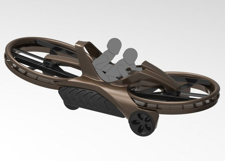 """Well, it's not exactly a Podracer or even a Hoverboard, but holy shit is it close to a hybrid of both. Aeroflex is currently taking pre orders for The Aero-X Hoverbike 2 or better known as the """"Aerial ATV"""". They are going to begin delivering the Hoverbikes sometime in 2017, all you need is $85,000 and maybe some Jedi Reflexes. Aerofex is a California based company who first introduced us to the prototype back in 2012. Back then, the Hoverbike was simply 2 fans and a seat, but the new fully…"""