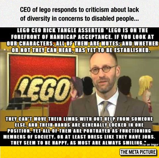 CEO Of Lego Responds Like A Boss
