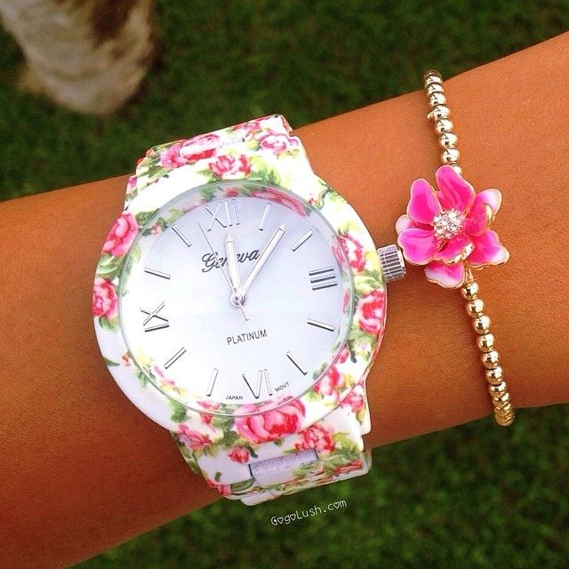 Check out the new #Floral Stacks! I can't get enough of them www.gogolush.com  Many of the #watches are selling out from the SALE! Did you get one yet? Prices will go back after the sale so hurry #Padgram