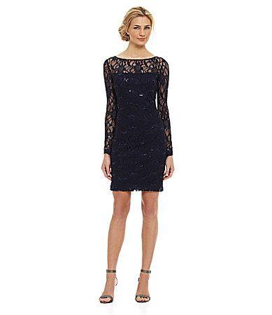 JS Collections Lace Dress #Dillards