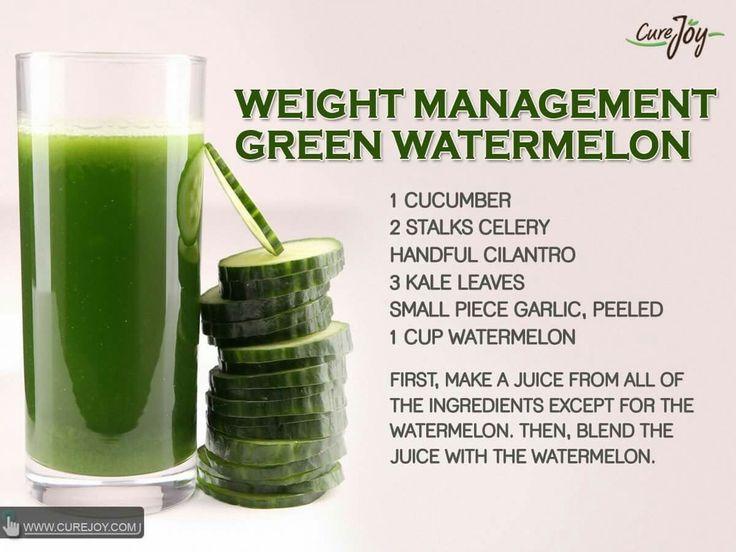 Weight loss detox drink recipe