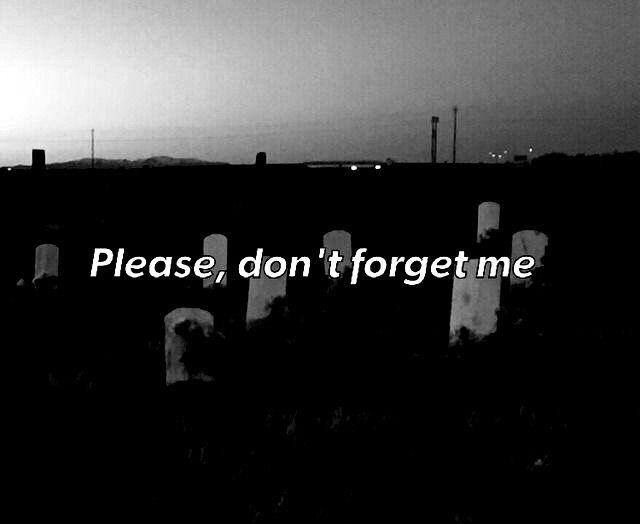 Por favor, nao me esqueça