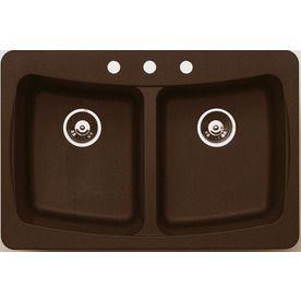 Plain Jacuzzi Kitchen Sink Metallic Doublebasin Granite Dropin Or And Design