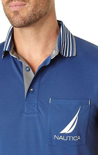 Men's Golf Pocket Polo Shirt - Nautica.com