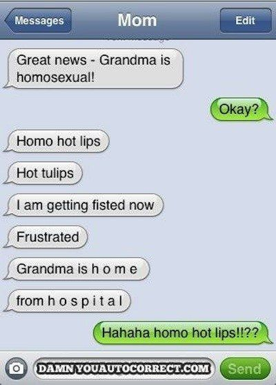 Great news!!! | 35 Of The Most Concerning Autocorrect Fails Of All Time OMG DYINNNNGGGGG