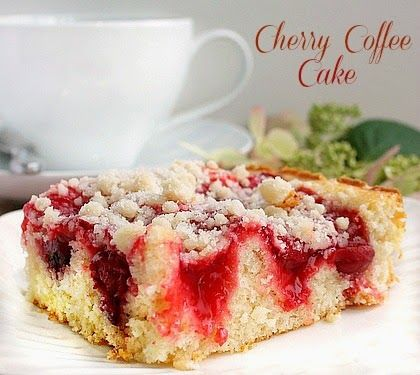 Raspberry Sour Cream Coffee Cake Using Cake Mix