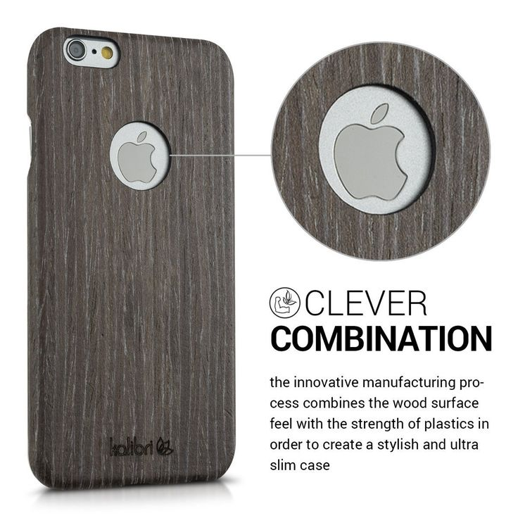 Kalibri Holz Case Hülle für Apple iPhone 6: Amazon.de: Computer & Zubehör