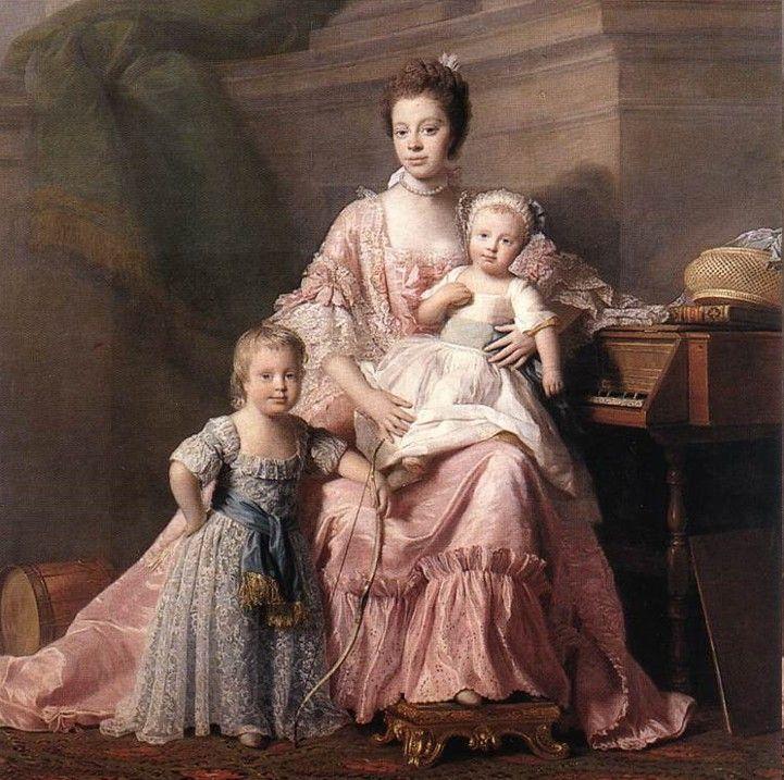 The Moorish proud Queen of England Charlotte of Mecklenburg-Strelitz (19 May 1744-17 November 1818)