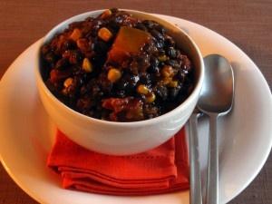 Recipe Chili – Butternut, Corn & Black Bean Chili
