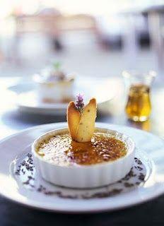 Crème Brûlée au Lavande