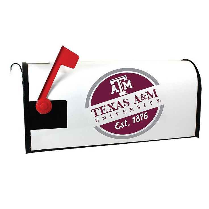 Texas A&M Aggies Magnetic Mailbox Cover, Multicolor