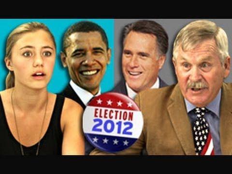 Teens/Elders React to 2012 Election