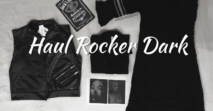 Haul de ropa negra y alternativa. ROCKER, DARK AND GOTH
