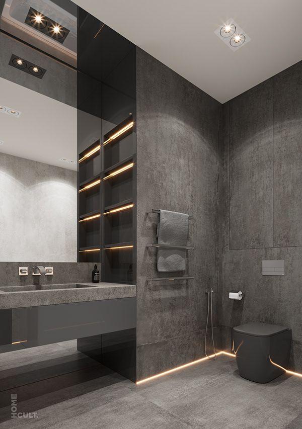 Blogger Apartment Kiev Ukraine On Behance In 2020 Home Room Design Bathroom Interior Design Bathroom Interior