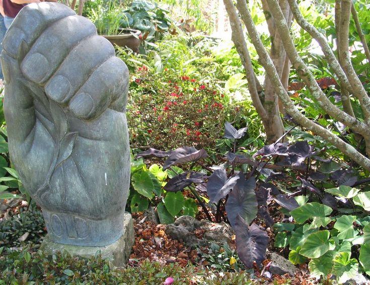 I just love Kavin King & Mark Yandall's garden, Herne Bay, NZ via Picasa  Un article ici dans Auckland Now
