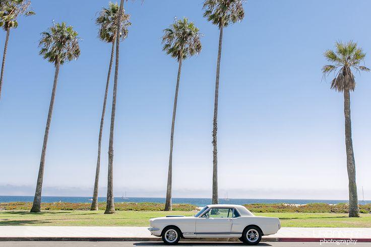 All around the world: California Part II - Urban Art Photography, the american dream, Ford Mustang, USA, Beach, Strand, Palmen, Santa Barbara, G.T. 350 #urbanartphotography