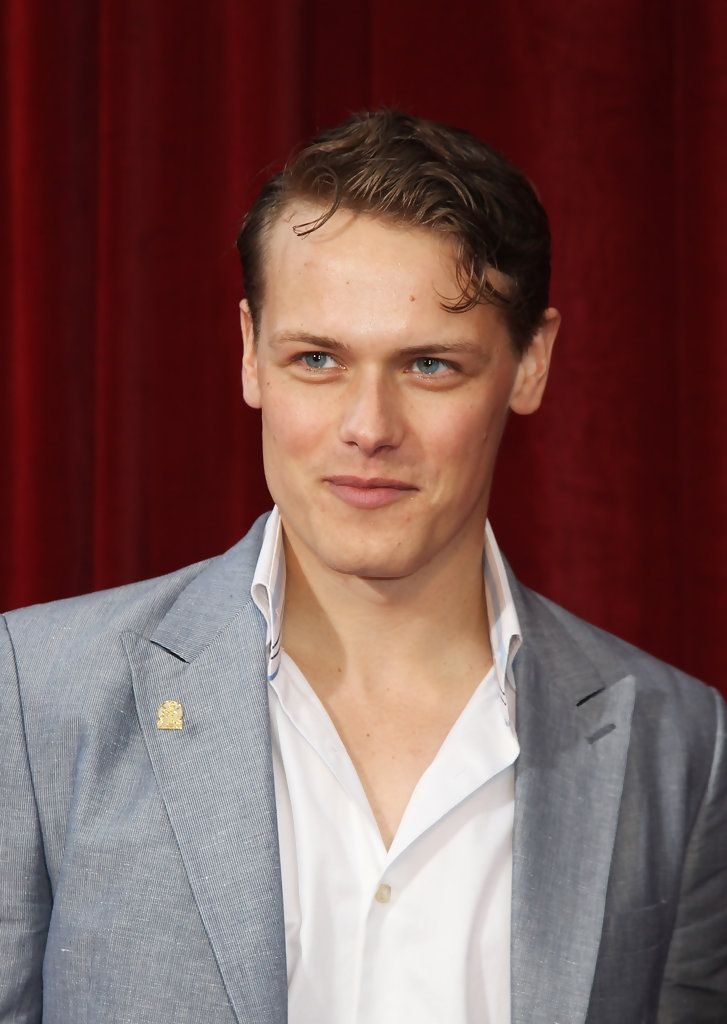 Sam Heughan, the Scottish actor who will be playing Jamie Fraser in the OUTLANDER TV series on STARZ.