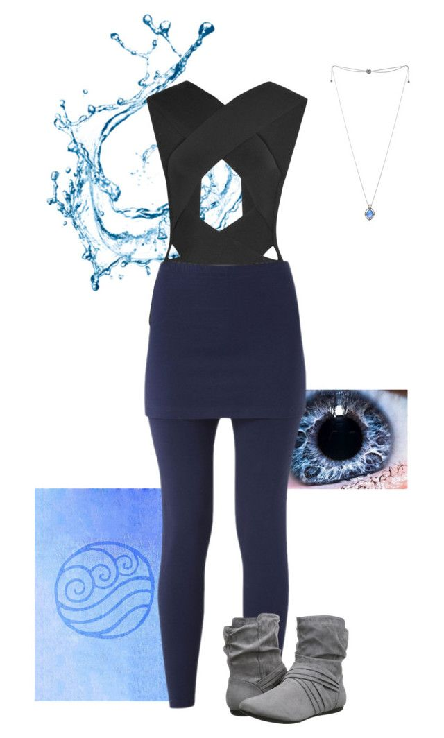"""""""Water Tribe"""" by gone-girl ❤ liked on Polyvore featuring Balmain, Judith Jack and Report"""