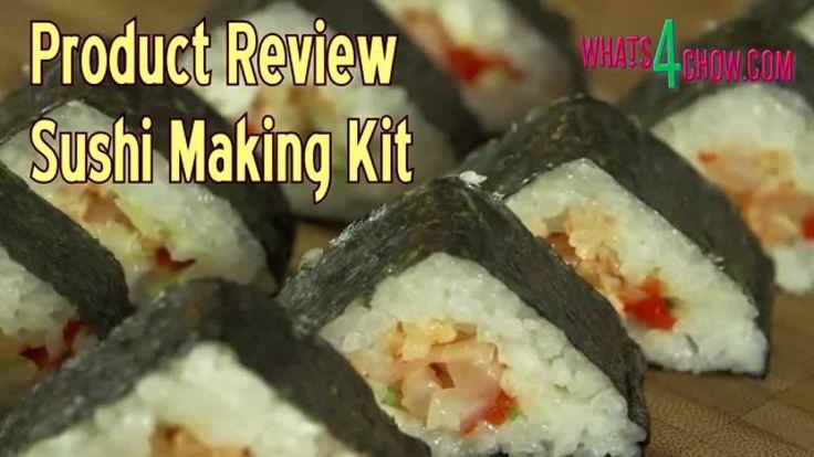 Product Review - Sushi Making Kit - Manual Sushi Machine - Make Sushi at...
