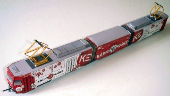 CKD Tatra KT8D5 Tramcar Free Vehicle Paper Model Download…
