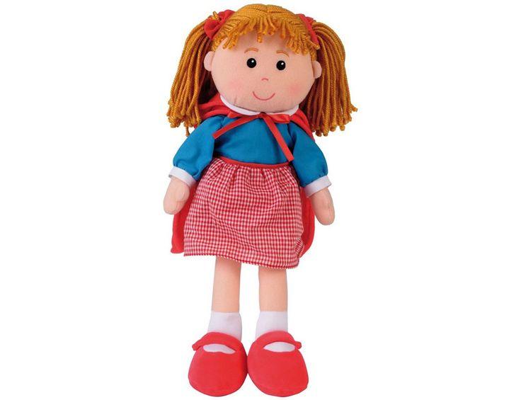 Πάνινες : Πάνινη κούκλα Κοκκινοσκουφίτσα | Toy-Box.gr - Καλά Εκπαιδευτικά Παιχνίδια