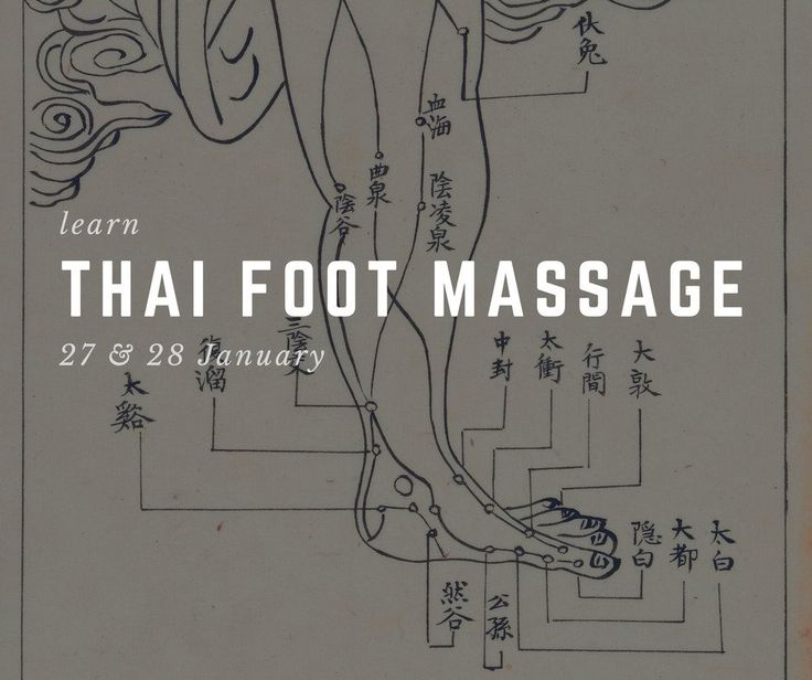 Thai Foot Massage Σεμινάριο στην σχολή μας, σε τιμή προσφοράς.