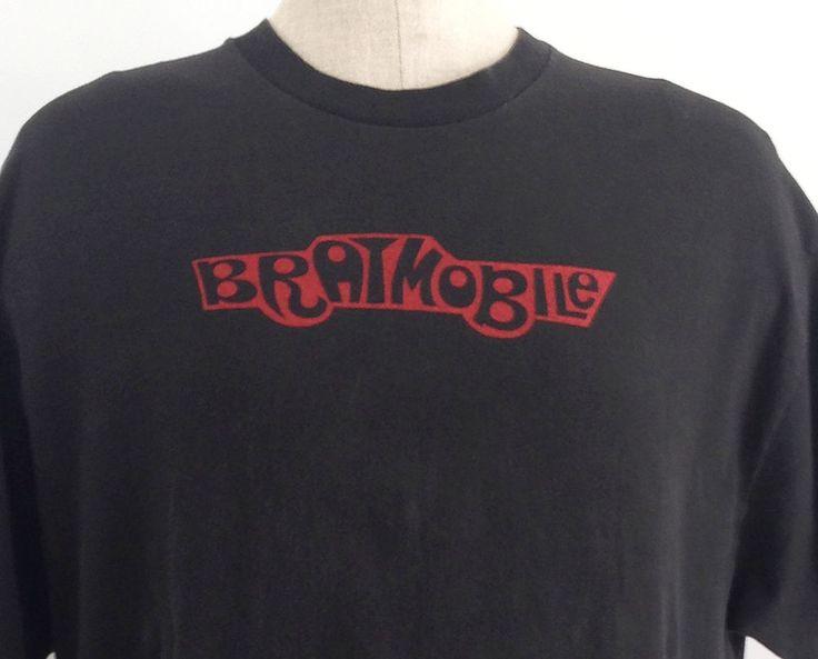 Bratmobile Shirt September 2017