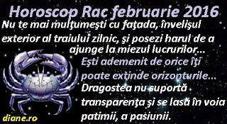 diane.ro: Horoscop Rac februarie 2016