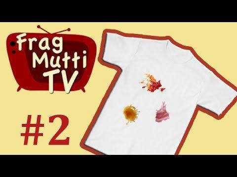 Flecken entfernen mit Hausmitteln Teil 2 - Frag Mutti TV