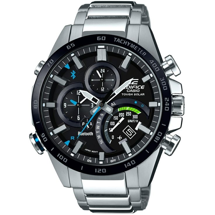 Casio Edifice EQB-501XDB-1AER Bluetooth Watch Tough Solar | WatchO™