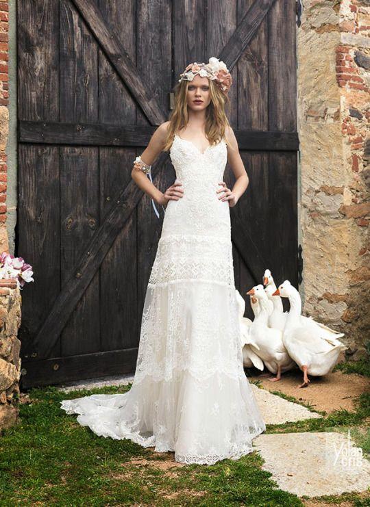 Fabuleux Oltre 25 fantastiche idee su Abiti da sposa chic su Pinterest  PG25