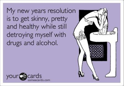 e cards funny | alcohol, drugs, ecards, new years - inspiring picture on Favim.com