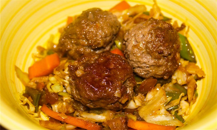Asian Meatballs: More Item, Asian Meatball, Ww Point, Asian Food, Watchers Asian, Slender Kitchens, Healthy Asian Recipe, Green Onions, Weights Watchers Point