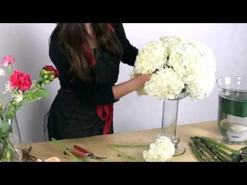 DIY: Beginners Guide To Floral Arrangements   Floral Design   Michaels    YouTube. Modern Wedding CenterpiecesDiy Wedding DecorationsHydrangea ...