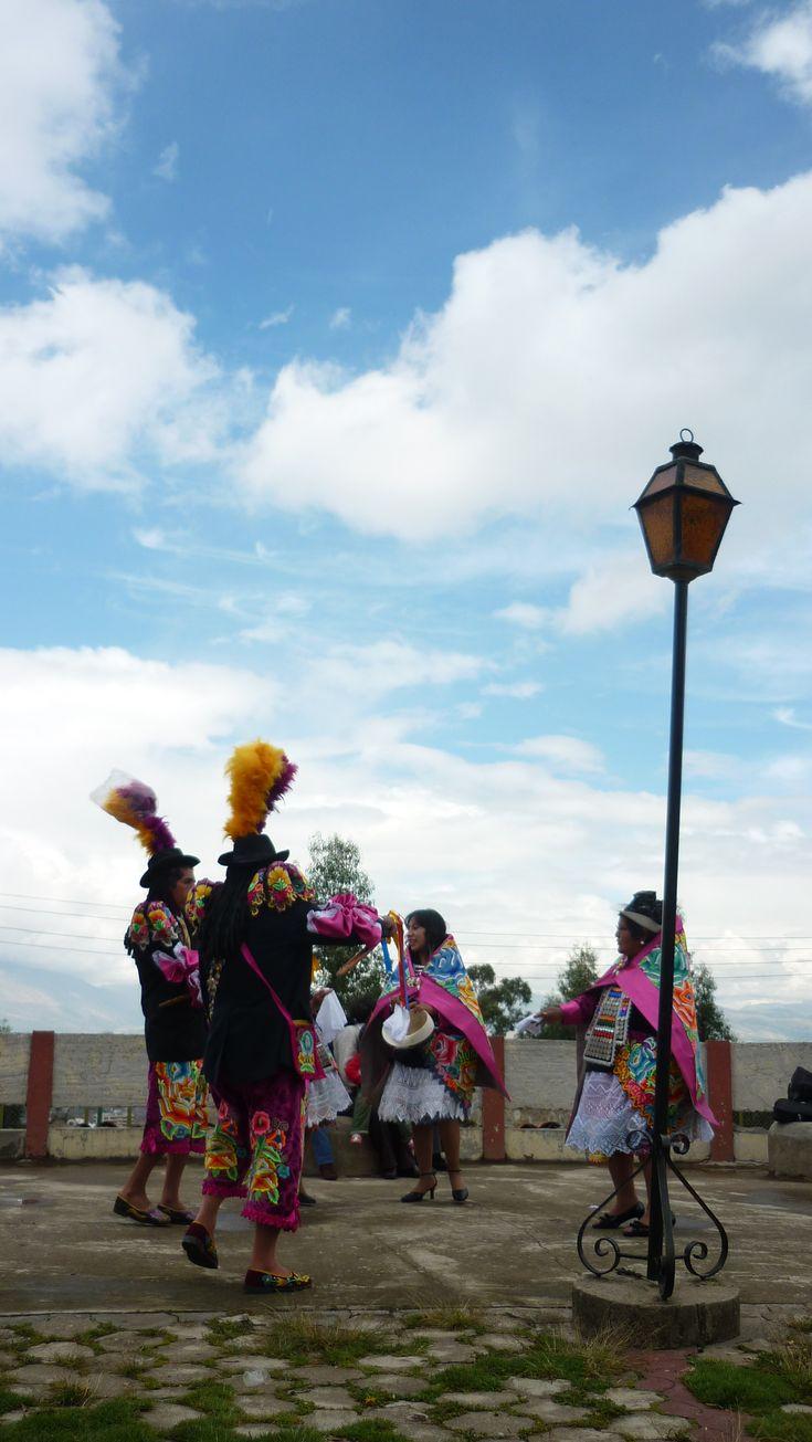 Colorful dancers, Huancayo - Peru